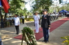 DND USec. Jesus Millan, Ltc. Alisha Hamel and VADM Alexander Lopez during the Wreath Laying Ceremony at Plaza Cuartel.JPG