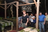 Guests arrive at the Dampa Restaurant at the Iwahig Firefly Watching Eco-Tourism and Wildlife Park.JPG