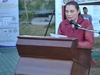 Palawan Tourism Council President, Ms. Debbie Tan, delivers the closing remarks.JPG